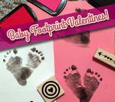 baby footprint ideas diy baby footprint s day cards disney baby