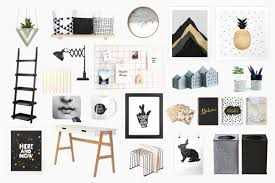 21 irresistible home workspace decorating ideas in black white