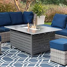 Ember Table Amazon Com Red Ember Longmont 50 X 38 In Rectangle Gas Fire Pit