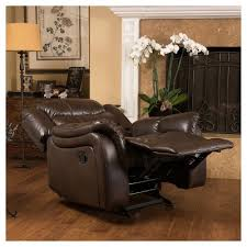 Tony Little Massage Chair Leather Club Chair Recliner Target