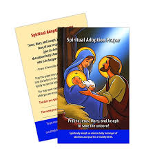 prayer card adoption prayer card 5 pack
