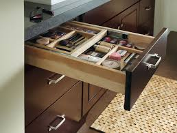 bathroom makeup storage ideas schrock vanity cosmetic drawer traditional other throughout