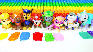 learn colors with paw patrol learn to mix paw patrol colors with