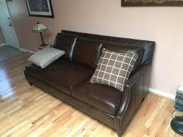 bernhardt colton leather sofa colton sofa havertys