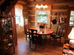 White Lace Valance Curtains Dazzling Curtain Ideas For Log Cabin Using White Lace Valance