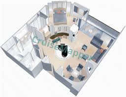 Allure Of The Seas Floor Plan Rhapsody Of The Seas Cabins And Suites Cruisemapper