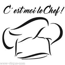 toque cuisine sticker décoration cuisine toque du chef texte c est moi le chef