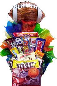 balloon and candy bouquets sweet sports candy basket 4 balloon options candy bouquet
