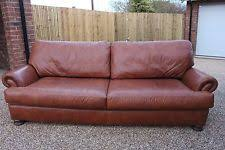 John Lewis Leather Sofas John Lewis Madison 2 Seater Sofa In Brown Leather Ebay