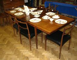 chair mid century modern rosewood dining table and chairs by