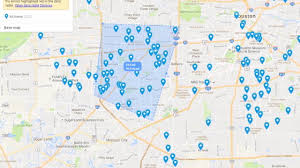 Little Creek Base Map Houston 1 Of 3 Cities Driving National Murder Rate Higher