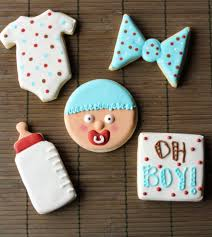 oh boy baby shower cookies eat think u0026 be merry