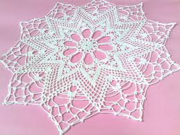 Pinterest Shabby Chic Home Decor by Crochet Doily Shabby Chic Home Decor Crochet Placemat Cottage Chic
