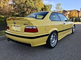 Bmw M3 Yellow 2016 - 1995 bmw m3 german cars for sale blog