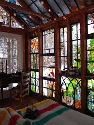 a stained glass artist creates a mini refuge u2013 design sponge
