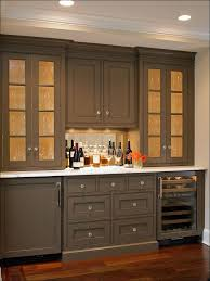 best paint color for kitchen with dark cabinets home design