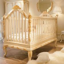luxury wooden baby crib royal golden hand carving our little
