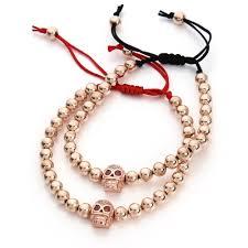 gold skull bracelet men images Skull bracelet womens best bracelets jpg