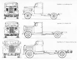 opel blitz opel blitz truck 1940 blueprint download free blueprint for 3d