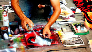 free spray painting lesson for art youtube