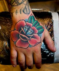rose diamond hand tattoo myke chambers tattoos by myke cha u2026 flickr