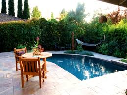 patio delightful inground pool patio ideas small pools design