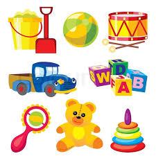 children s toys stock vector colourbox