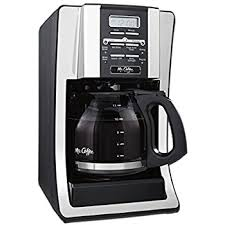 mr coffee under cabinet coffee maker amazon com mr coffee advanced brew 12 cup programmable coffee