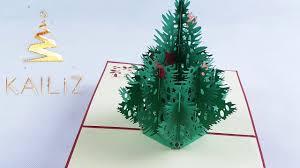 kailiz big christmas tree 3d christmas card youtube