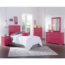 Hot Pink Bedroom Set | pink children s bedroom furniture true love pink bedroom set