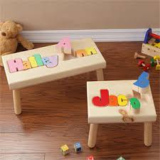 wooden personalized gifts wooden name puzzle stool gift ideas gift wooden