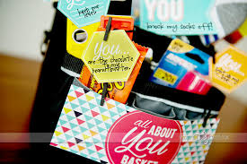 gift baskets for him all about you basket
