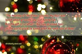 A Christmas Lesson Poems On The Meaning Of Christmas