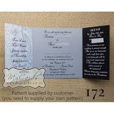 wedding invitations island pacific pattern gatefold wedding invitation design 172 mycards