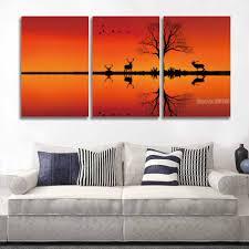 online buy wholesale red deer art painting from china red deer art