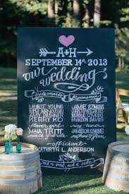 chalkboard program wedding 8 best images of wedding chalkboard printable wedding