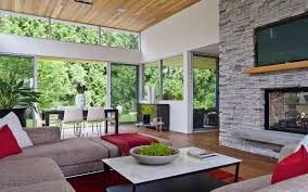 modern home surrounded by nature in vancouver canada 4