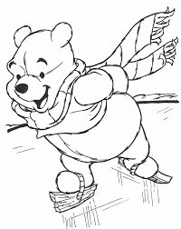 pooh coloring coloring pages kids
