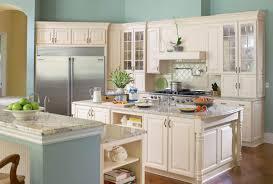 kitchen handsome u shape kitchen and bath decoration using white