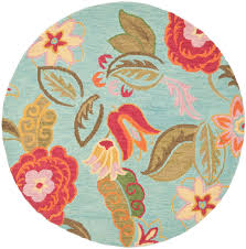 4 Foot Round Area Rugs by Rug Blm675a Blossom Area Rugs By Safavieh
