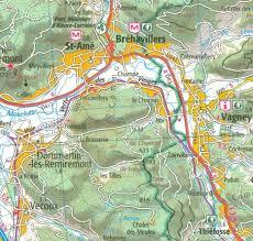 Nancy France Map by 121 Nancy Epinal