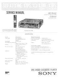 sony slvx1me service manual immediate download
