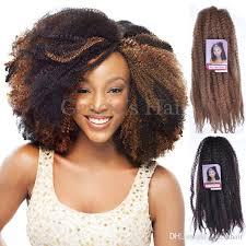 medium size packaged pre twisted hair for crochet braids cheap afro kinky marley braiding hair 18 crochet braids afro kinky