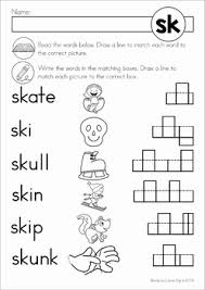 blends worksheets and activities sk worksheets activities and