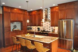 graceful light cherry kitchen cabinets sensual wooden natural also