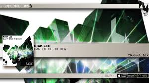 nicklee nick lee can u0027t stop the beat original mix youtube