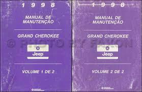 1998 jeep grand manual 1998 jeep grand portuguese repair shop manual original 2