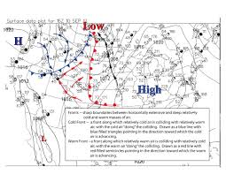 Weather Map Symbols Past Links For Metr 356 Fall 2010