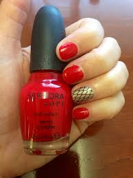 nails u2013 fishnet red u2013 pearls and paris