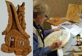 wood carvers woodcarvers show sale
